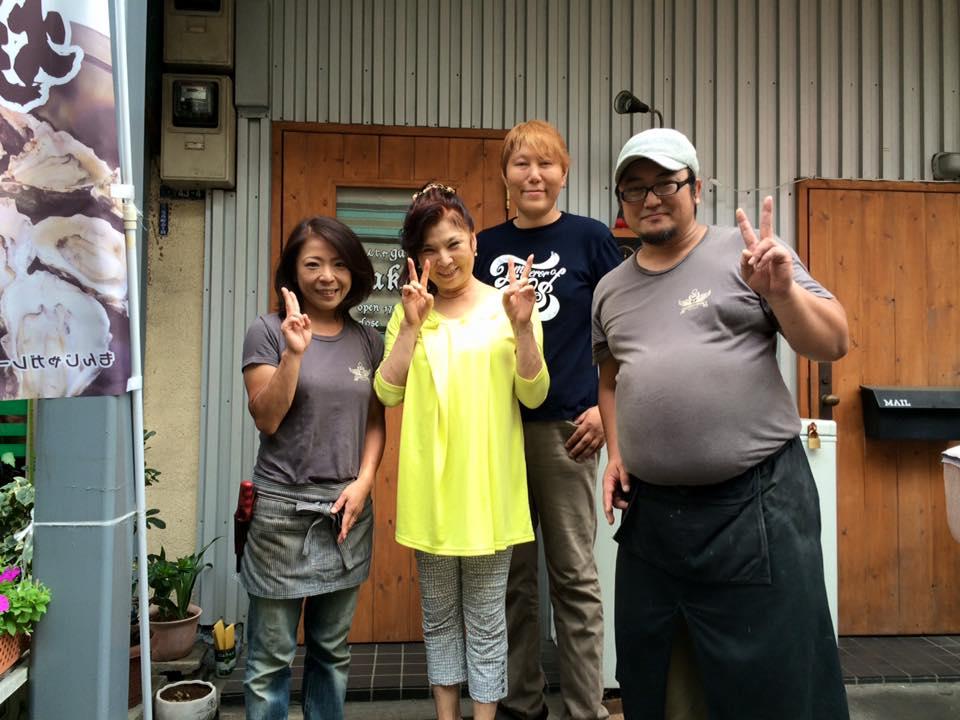 八代亜紀さんにご来店いただきました。